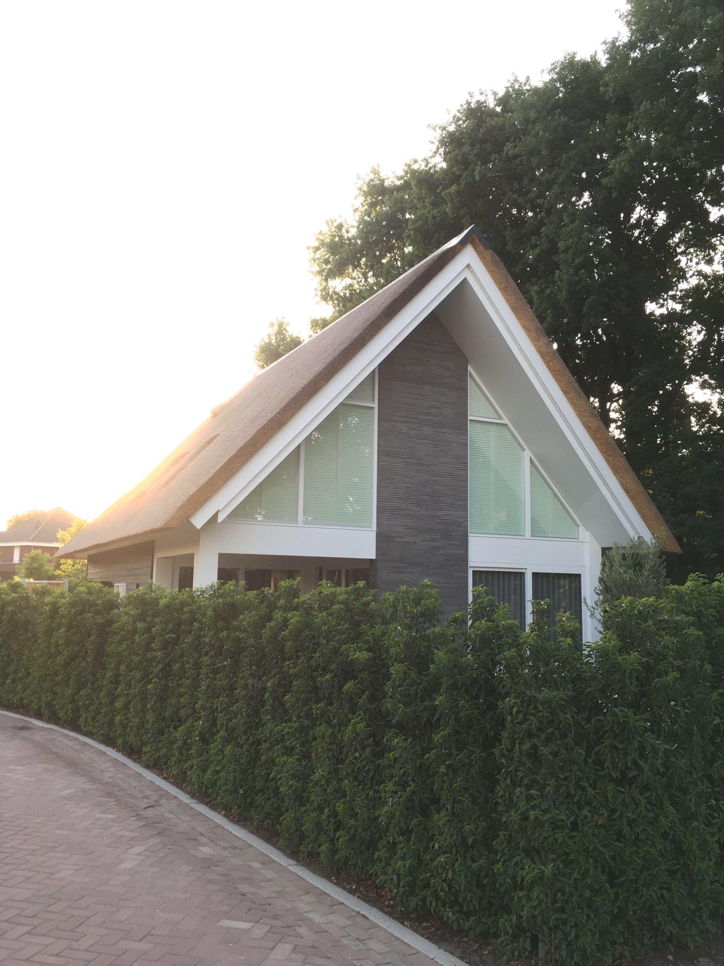 Landelijke nieuwbouwwoning
